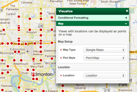 Build Geographic Maps Out Of Cloud Based Data Using